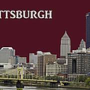 Pittsburgh Poster Art Print
