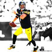 Pittsburgh Steelers Ben Roethlisberger Art Print