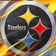 Pittsburgh Steelers Football Art Print