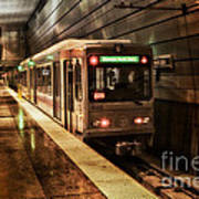 Pittsburgh Subway Art Print