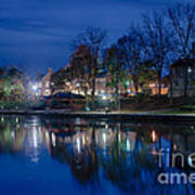 Pittsford On The Erie Canal Art Print