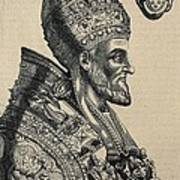 Pius Iv 1499-1565. Pope 1559-1565 Art Print