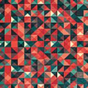 Pixel Art Poster Art Print