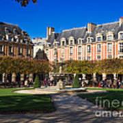 Place Des Vosges Paris Art Print
