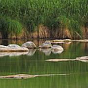 Llano River 2am-106459 Art Print