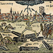Plague Of London, 1665 Art Print
