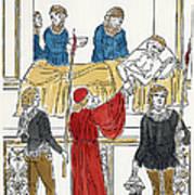 Plague Patient, 1500 Art Print