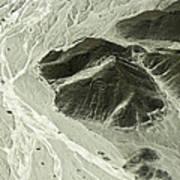 Plains Of Nazca - The Astronaut Art Print