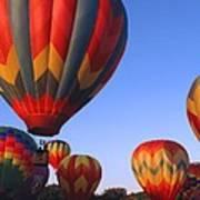 Plainville Hot Air Balloon Fesitval Art Print