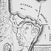 Plan Of West Point Art Print by French School