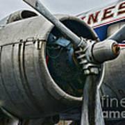Plane Check Your Engine Art Print