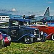 Planes And Cars Art Print