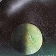Planet Au Vert Art Print