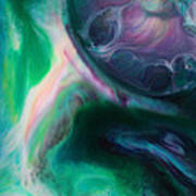 Planet B Art Print