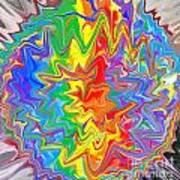 Planet Funk 3 Art Print