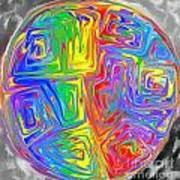 Planet Funk Art Print