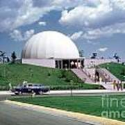 U.s. Air Force Academy Planetarium At Colorado Springs 1961 Art Print