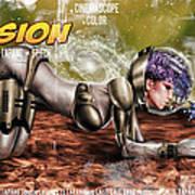 Planetary Invasion Art Print