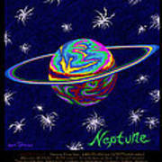 Planets 7 8 9 - Science Art Print