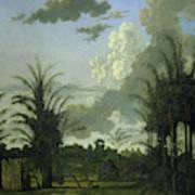 Plantation In Suriname, Dirk Valkenburg Art Print