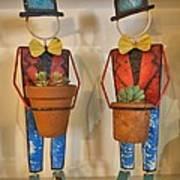 Planter Buddies Art Print