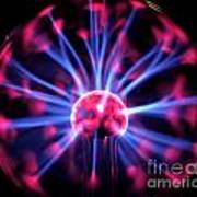 Plasma Ball Art Print