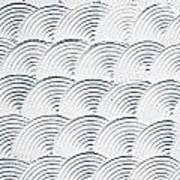Plaster Pattern Art Print