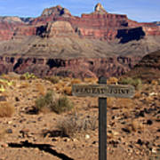 Plateau Point Grand Canyon Art Print