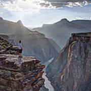 Plateau Point - Grand Canyon Art Print