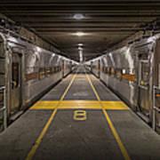 Platform Eight At Union Station Art Print
