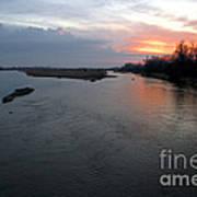 Platte River, Nebraska Art Print