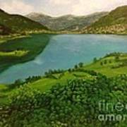 Plav Montenegro  Art Print