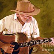 Play Guitar Play Art Print by Sharon Burger