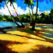 Playa Bonita 2 Art Print