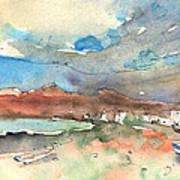 Playa Honda In Lanzarote 01 Art Print