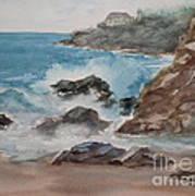 Playa Zicatela Mexico Art Print