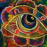 Playful Spirit Eye Art Print