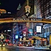 Playhouse Square Art Print