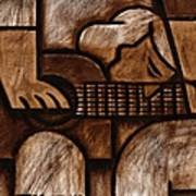 Tommervik Man Playing Acoustic Guitar Art Art Print
