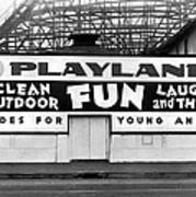 Playland At The Beach Art Print