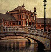 Plaza De Espana 5. Seville Art Print