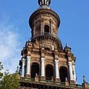 Plaza De Espana Tower Art Print