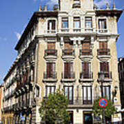 Plaza De Ramales Tenement House Art Print