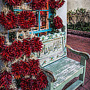 Plaza Gifts Bench Art Print
