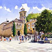 Plaza Nueva Art Print