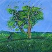 Pleasant Township Tree Art Print
