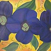 Please Me Purple Passion Art Print