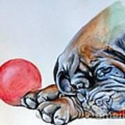 Please No More Ball Art Print