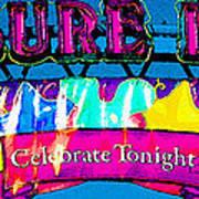 Pleasure Island Celebrate Tonight Art Print