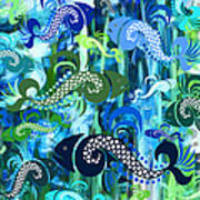 Plenty Of Fish In The Sea 1 Art Print
